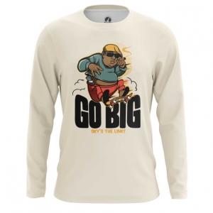 Merchandise Men'S Long Sleeve Hip Hop Biggie Smalls Go Big