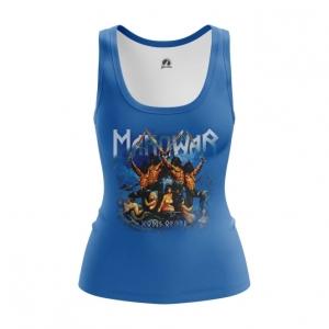 Merchandise Women'S Vest American Heavy Metal Manowar Top Tank
