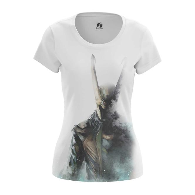 Merchandise Women'S T-Shirt Loki Fan-Art Print Top