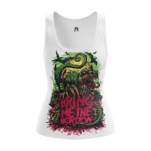 Merchandise Women'S Vest Bring Me The Horizon Cover Print Top Tank