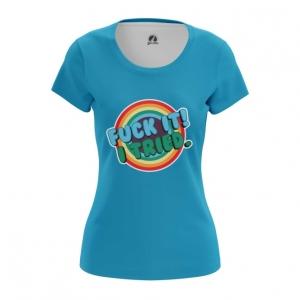 Merchandise Women'S T-Shirt Fuck It I Tried Sign Print Top
