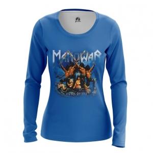 Merchandise Women'S Long Sleeve American Heavy Metal Manowar