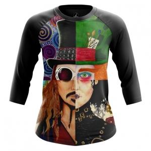 Merchandise Women'S Raglan Johnny Depp Alter-Ego Characters