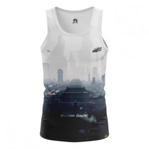 Collectibles Men'S Vest Future City Urban Top