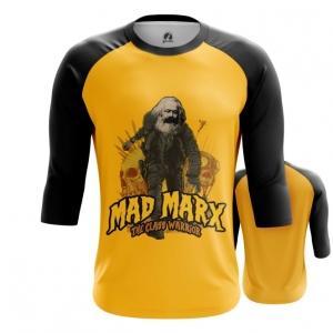 Merchandise Men'S Raglan Karl Marx As Mad Max