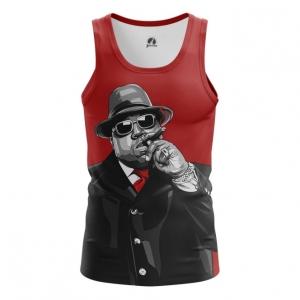 Merchandise Men'S Vest Notorious B.i.g. Biggie Smalls Top