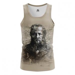 Collectibles Men'S Vest Top Fyodor Dostoyevsky Russian Novelist
