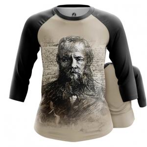 Collectibles Women'S Raglan Fyodor Dostoyevsky Russian Novelist