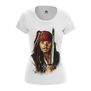 Collectibles Women'S T-Shirt Captain Jack Sparrow Top