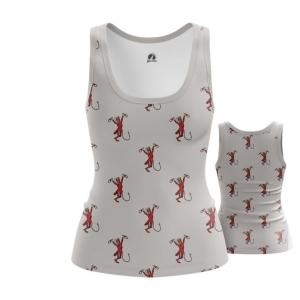 Merchandise Women'S Vest Party Like A Diablo Pattern Top Tank