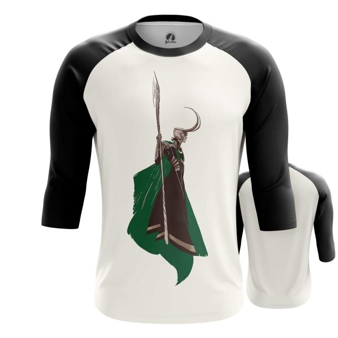 Merchandise Men'S Raglan Loki Minimalist Tom Hiddleston