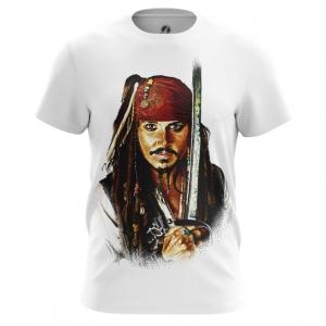 Collectibles Men'S T-Shirt Captain Jack Sparrow Top