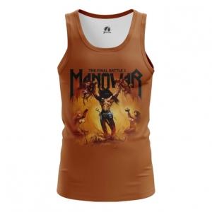Merchandise Men'S Vest Manowar Band Top