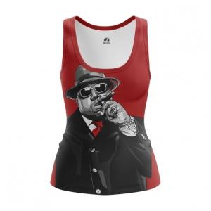 Merchandise Women'S Vest Notorious B.i.g. Biggie Smalls Top Tank