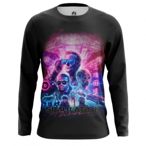 Collectibles Men'S Long Sleeve Simulation Theory Muse Band