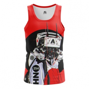 Merchandise Women'S Vest Robot Cyberpunk Red Top Tank