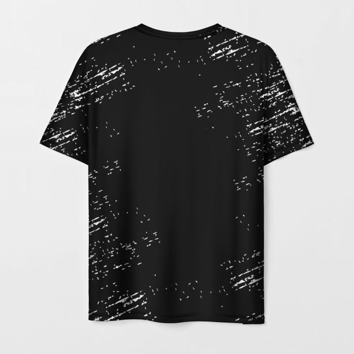 Merchandise Men'S T-Shirt The Last Of Us Print Label Text Black