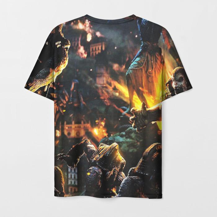 Merch Men'S T-Shirt Game Scene Gears Of War 5 Apparel