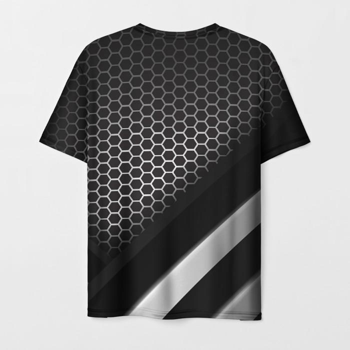 Merchandise Men T-Shirt Radiation Sign Stalker Print