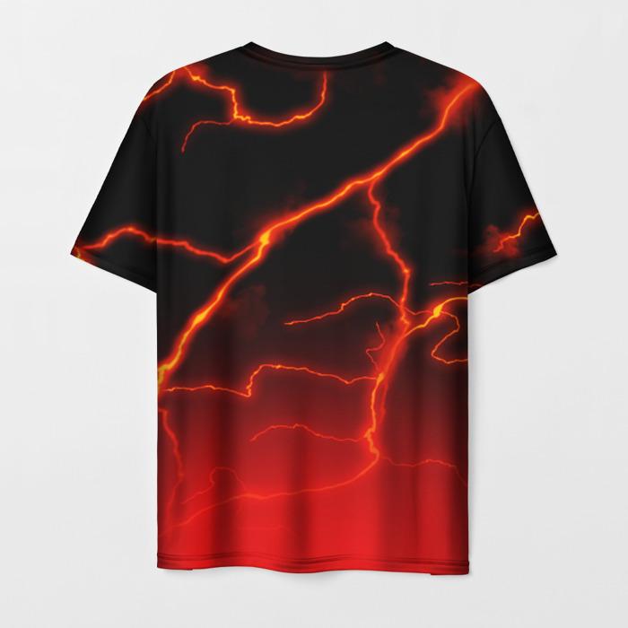 Collectibles Men T-Shirt Red Lighting Stalker Radiation