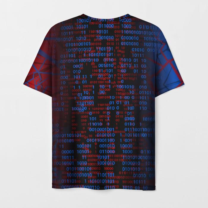 Merch Men T-Shirt Print Game Cyberpunk 2077