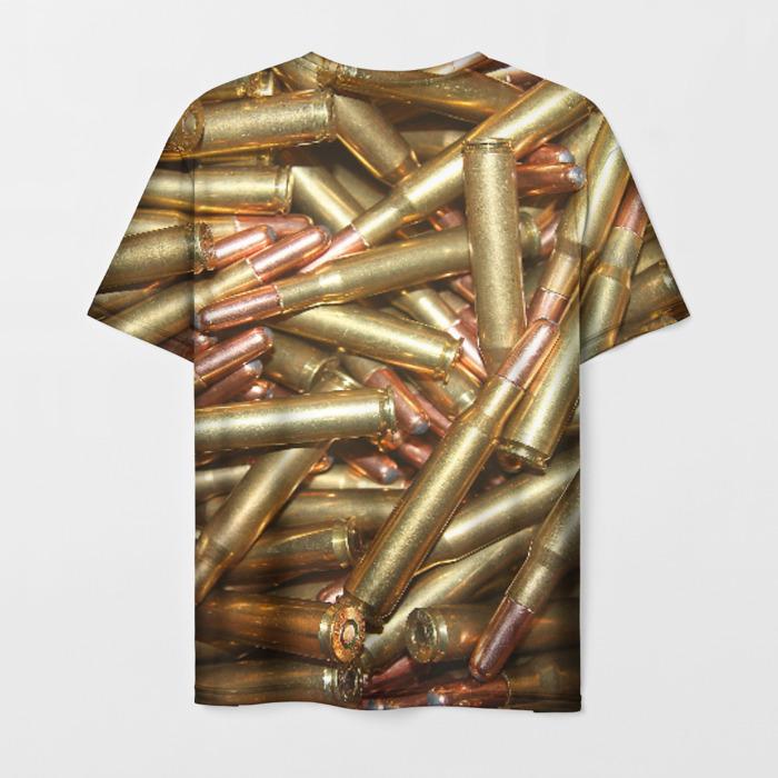 Merchandise Men'S T-Shirt Bullets Print Counter-Strike Merch