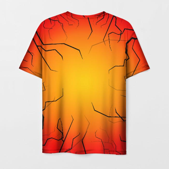 Collectibles Men'S T-Shirt Orange Emblem Stalker Design Image