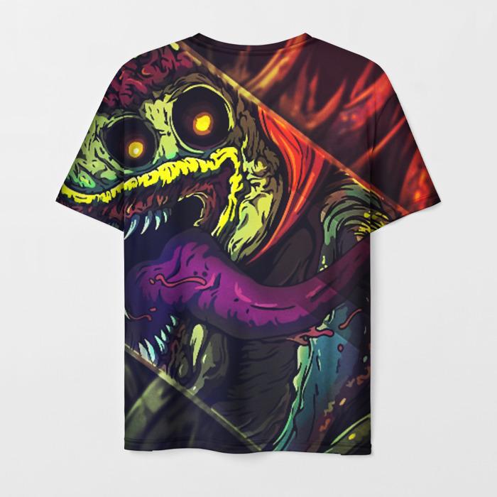 Merchandise Men'S T-Shirt Design Psychedelic Counter-Strike