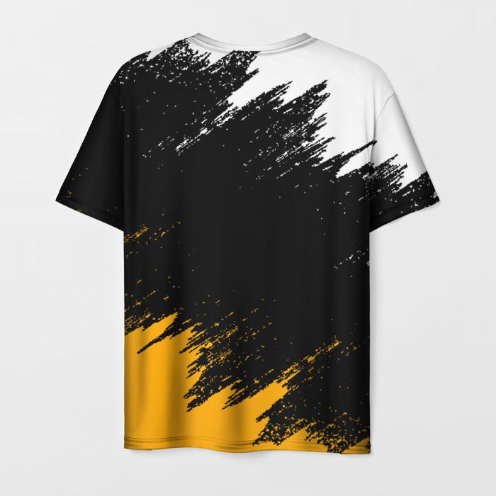 Merchandise Men'S T-Shirt Label Design Pubg Black Merch