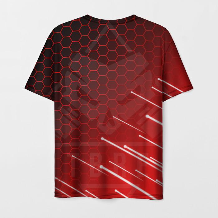 Merch Men'S T-Shirt Design Print Outbreak Rainbow Six Siege