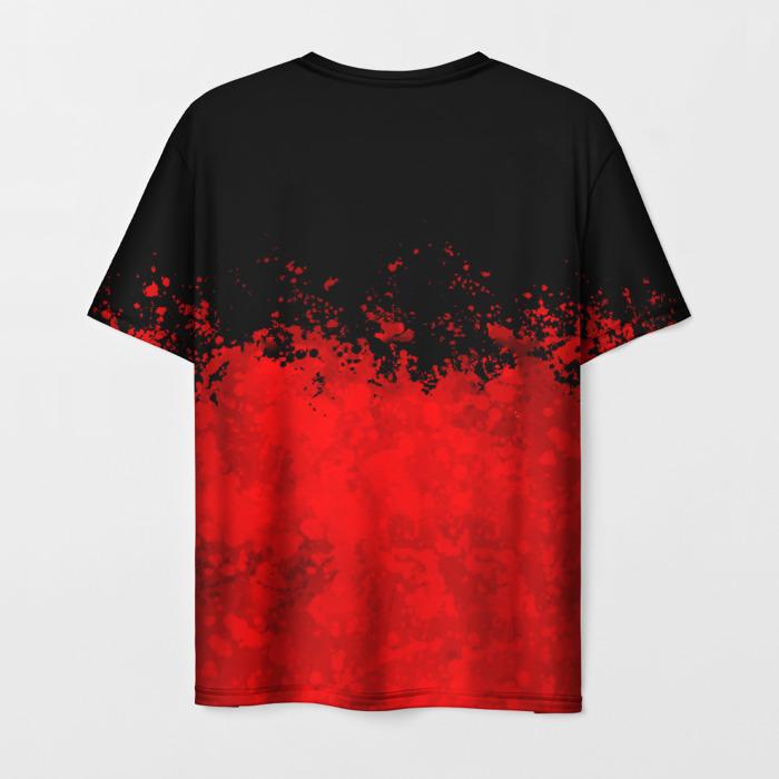 Merch Men'S T-Shirt Label Graphic Rainbow Six Siege Print