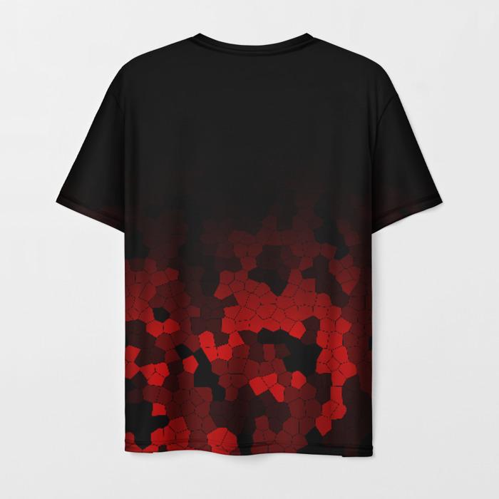 Merch Men'S T-Shirt Design Rainbow Six Siege Black Print