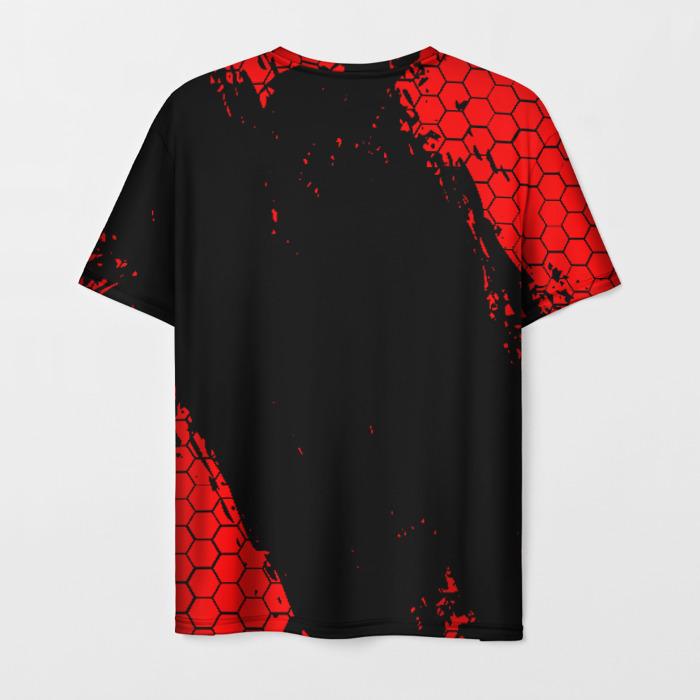 Merchandise Men'S T-Shirt Number Print Rainbow Six Siege Text