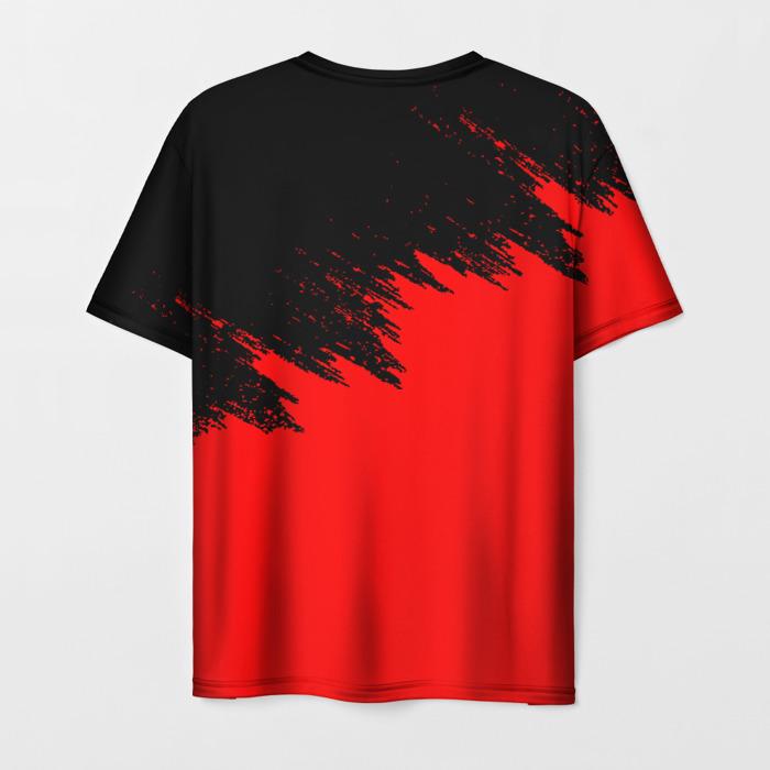 Merch Men'S T-Shirt Print Rainbow Six Siege Title Graphic
