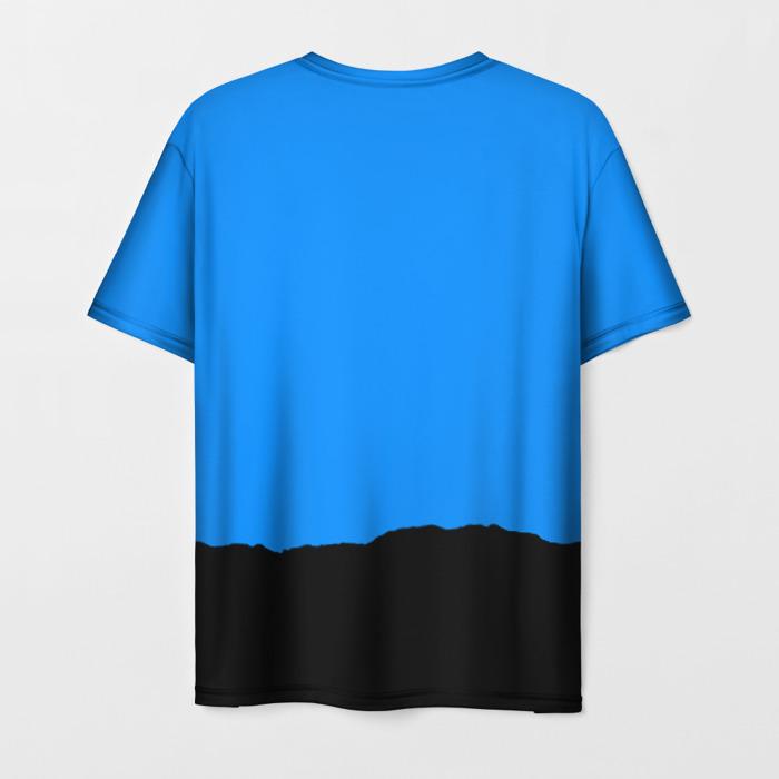 Merchandise Men'S T-Shirt Print Merch Blue Team Fortress