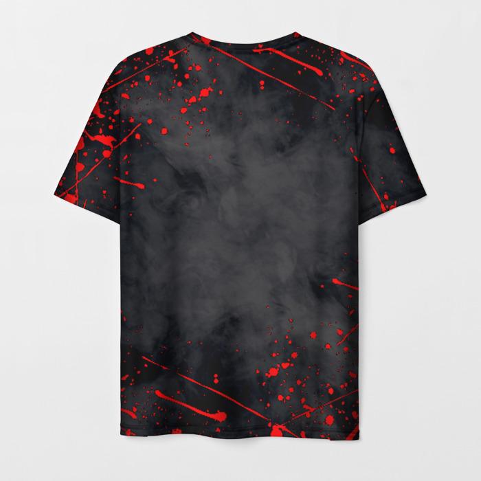Merchandise Men'S T-Shirt Outbreak Design Rainbow Six Siege