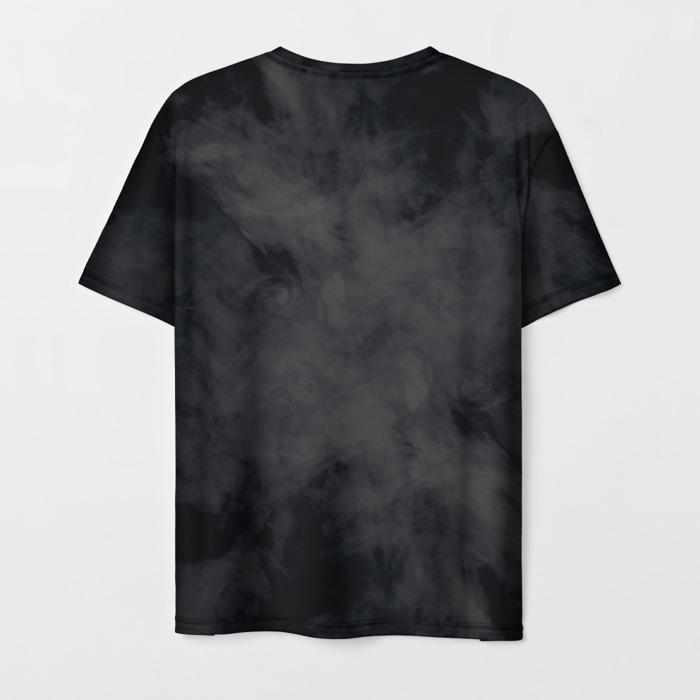 Merch Men'S T-Shirt Portrait Print Dishonored Black