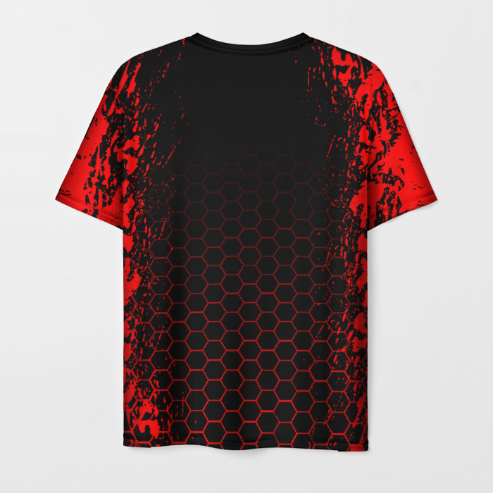 Collectibles Men'S T-Shirt Print Outbreak Title Rainbow Six Siege