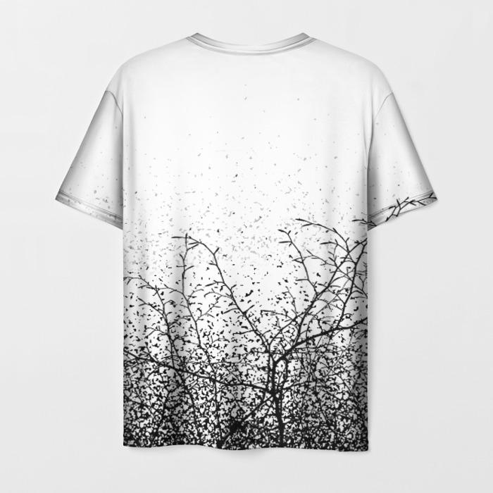 Merchandise Men'S T-Shirt Game White Hand Print Death Stranding