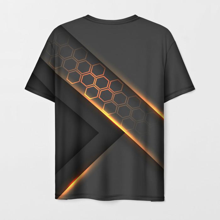 Merchandise Men'S T-Shirt Outline Graphic Wolfenstein Print