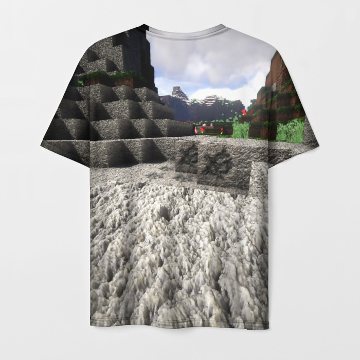 Collectibles Men'S T-Shirt Footage Drawing Game Minecraft