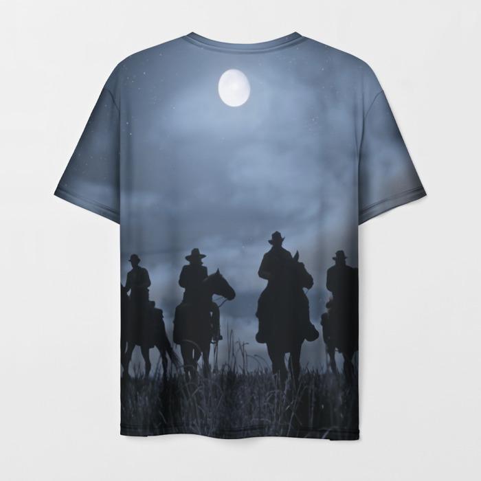 Merch Men'S T-Shirt Footage Merch Red Dead Redemption Print