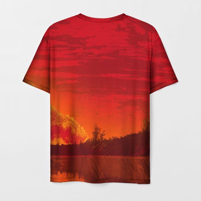 Merchandise Men'S T-Shirt Picture Print Game Red Dead Redemption