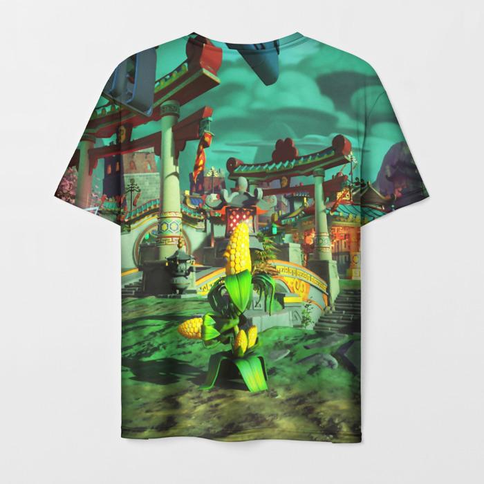 Merchandise Men'S T-Shirt Merchandise Plants Vs Zombies Scene Game
