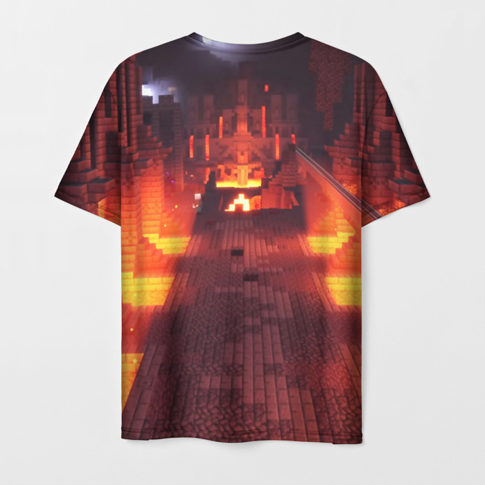 Collectibles Men'S T-Shirt Footage Print Minecraft Game Design
