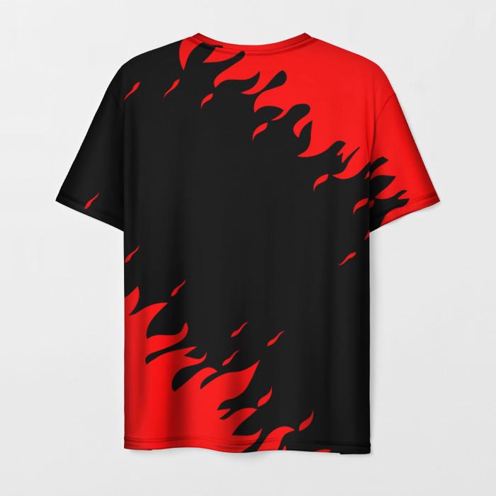 Collectibles Men'S T-Shirt Game Text Cyberpunk Red Face