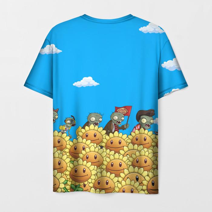 Collectibles Men'S T-Shirt Design Plants Vs Zombies Art
