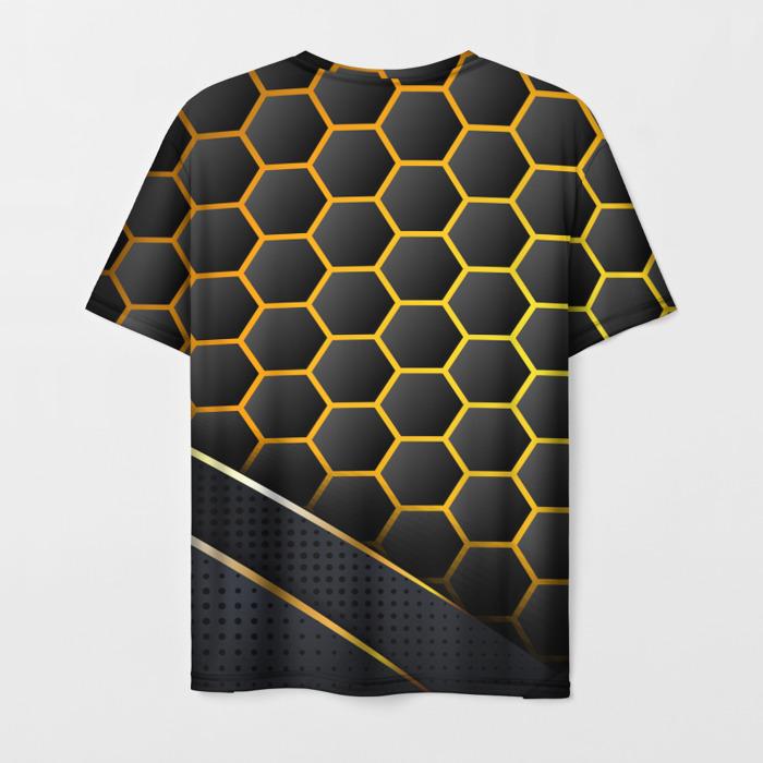 Collectibles Men'S T-Shirt Outline Design Lettering Rainbow Six Siege