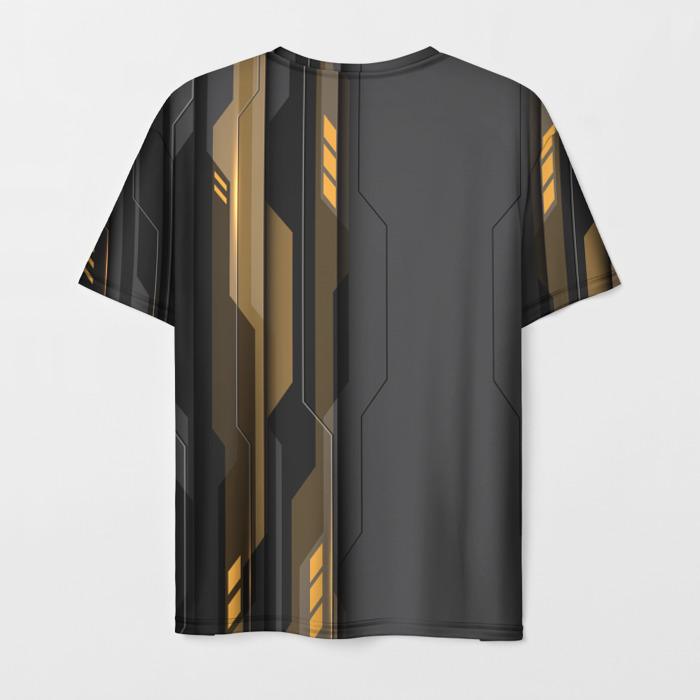Collectibles Men'S T-Shirt Label Merch Rainbow Six Siege Print