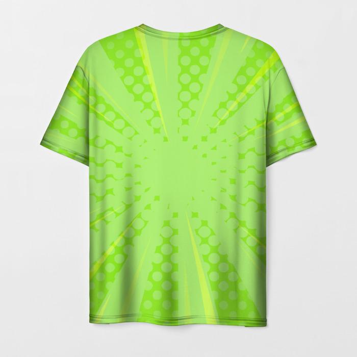 Merch Men'S T-Shirt Print Game Plants Vs Zombies Green Merch